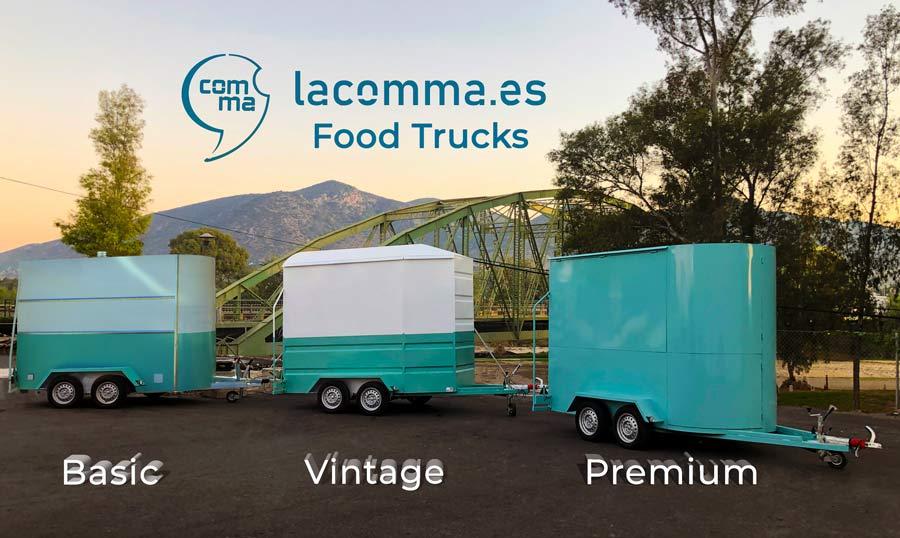 3 modelos food truck en venta