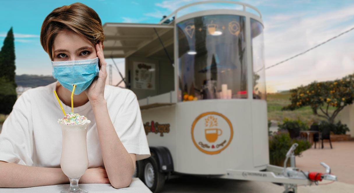food truck mascarilla coronavirus batido