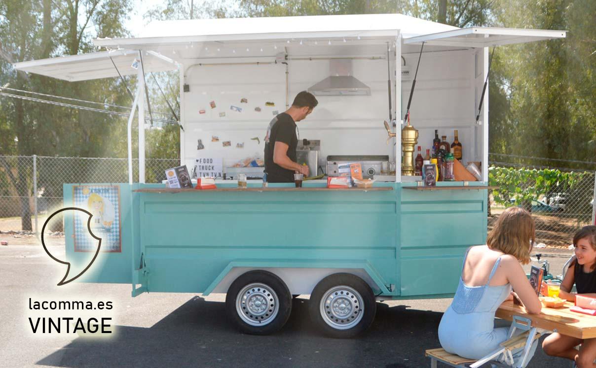 FOOD TRUCK Modelo Vintage LACOMMA