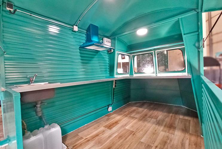 Interior food truck LT