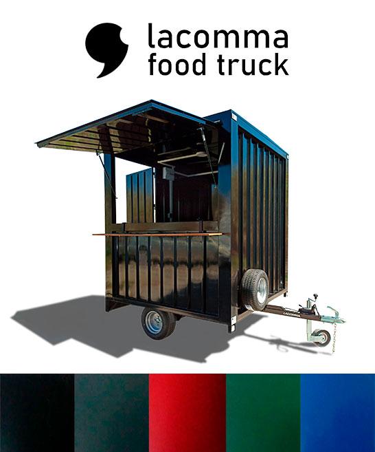 Contenedor food truck colores